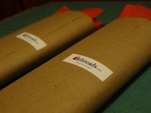 2 packages wrapped up
