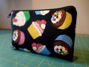 Cupcake Medium Pouch for Geoffrey R. in SC